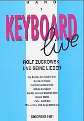 Keyboard live: Bd.1 Rolf Zuckowski und seine Lieder