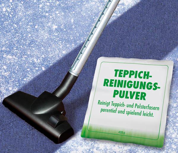 Teppich Reinigungspulver, 420 g
