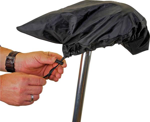 Regenüberzug für Sattel in Universalgröße