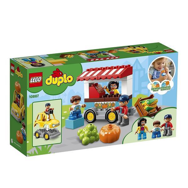 LEGO® Duplo® 10867 - Bauernmarkt, Große Bausteine