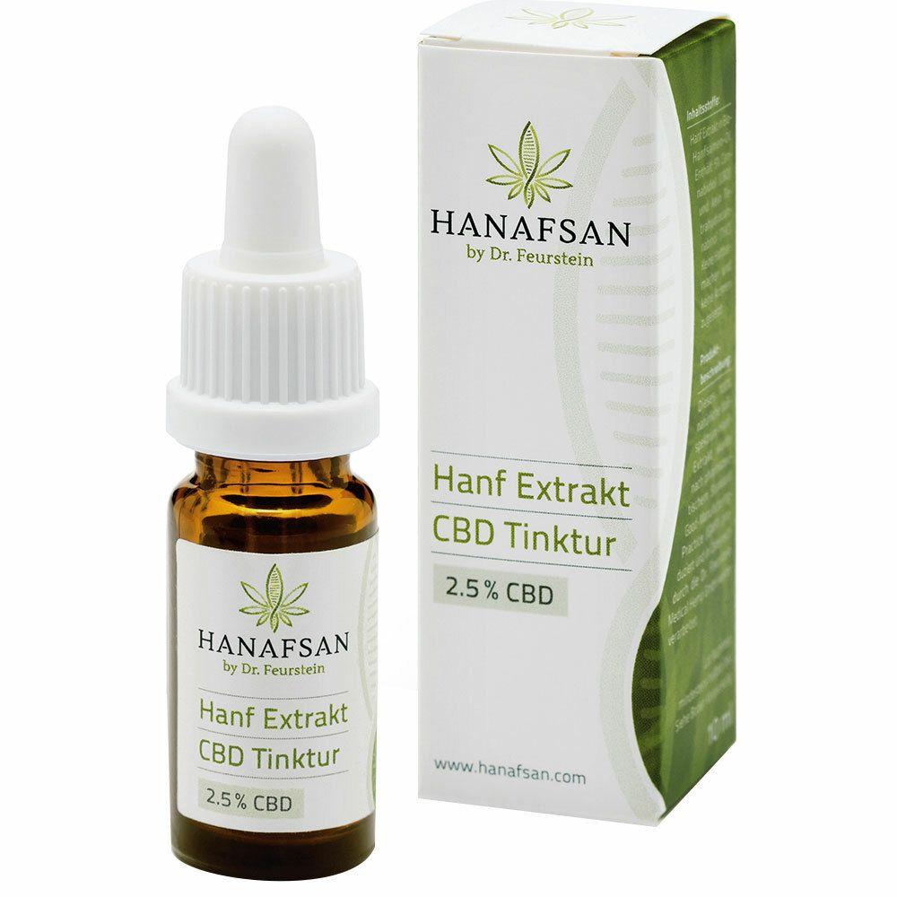 Hanafsan Hanf Extrakt CBD Tinktur 2,5 %