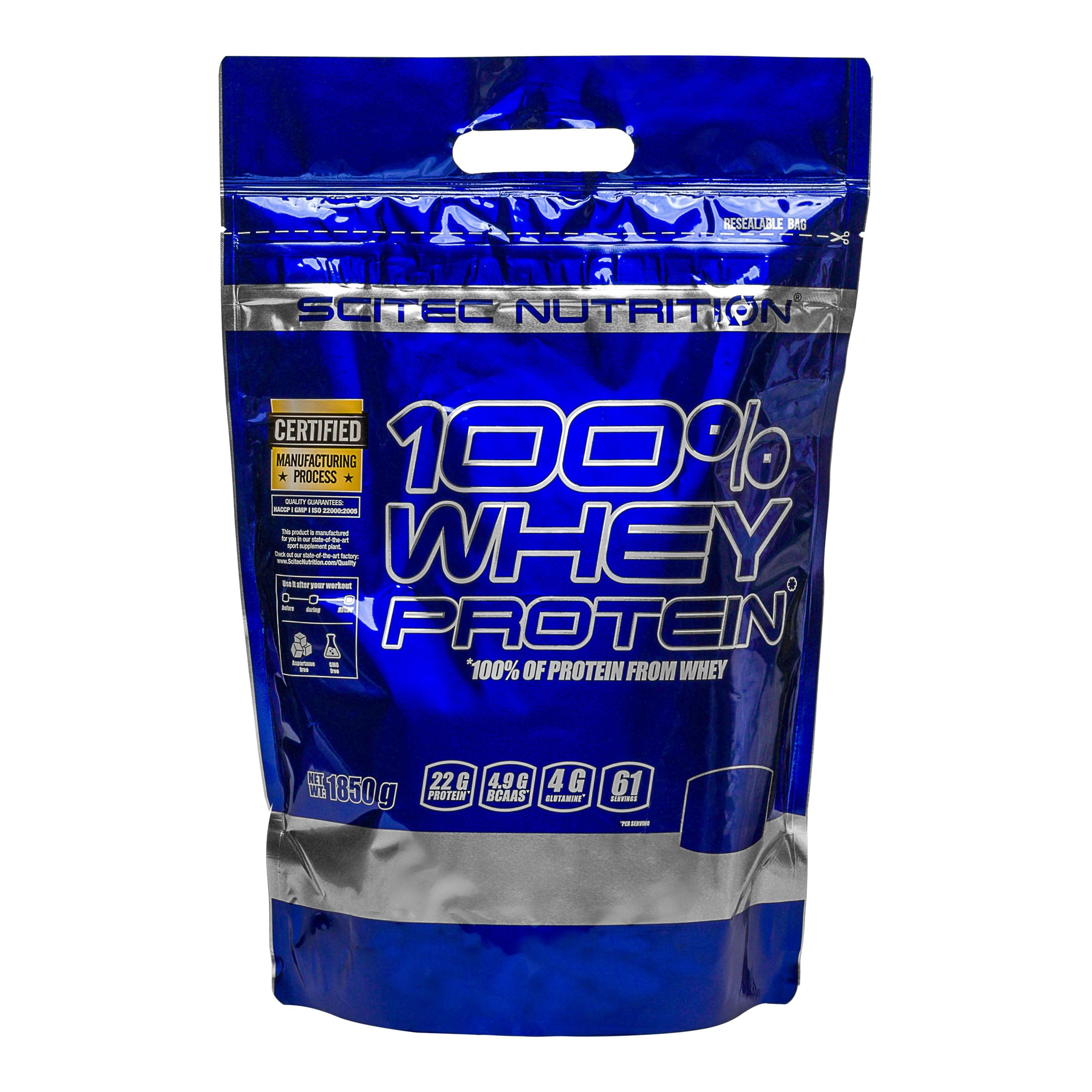 Scitec Nutrition 100 % Whey Protein Vanille / 1850 g Vanille / 1850 g