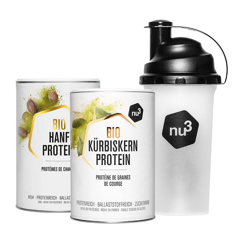 nu3 Vegane Proteine Produkt-Set Default Title