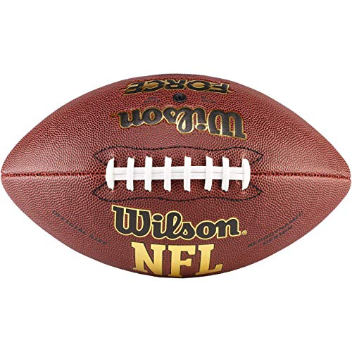 Wilson NFL Force Official American Football, Braun