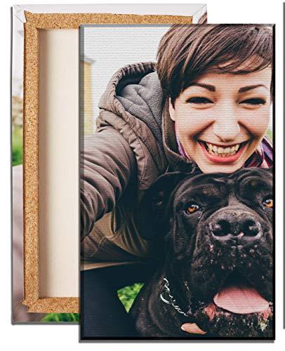 wandmotiv24 Ihr Foto auf Leinwand - 1-teilig - Hochformat 20x30cm (BxH), SOFORT ONLINE VORSCHAU, personalisierte Bilder als Fotogeschenk, Wandbild, Geschenkideen, Fotogeschenke, Geschenke,