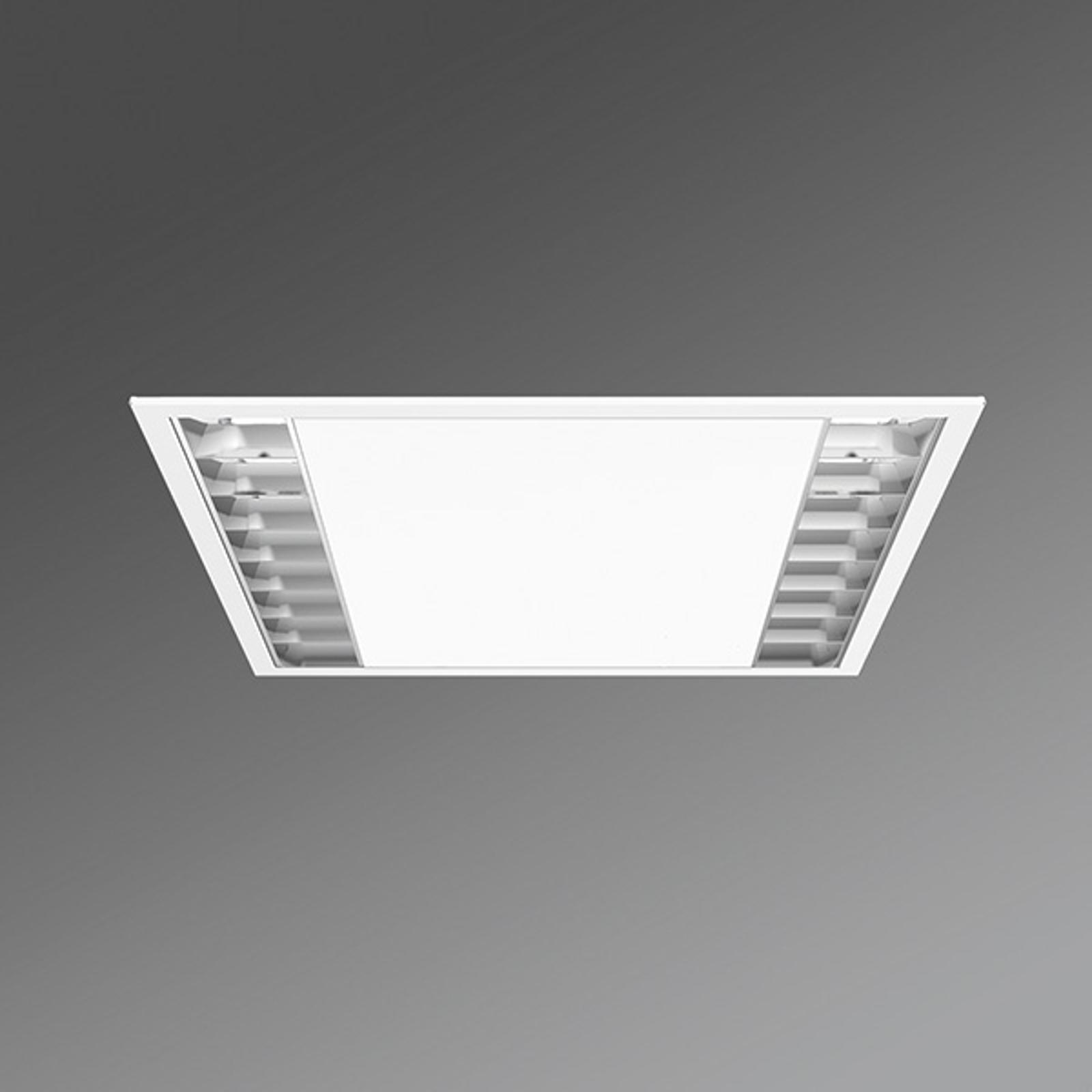 LED-Büro-Deckeneinbauleuchte UEX/625 Parabolraster
