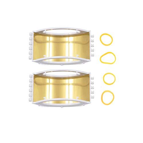 Luccase 2 Stücke Signal Extender Verstärker Booster Antennen Range Exte Booster Kompatibel mit DJI Mavic Mini Drohne, Mavic Pro, Mavic 2, Mavic Air, Spark (Weiß)