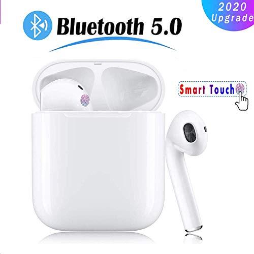 Bluetooth Kopfhörer, In-Ear-Bluetooth-Headset 3D Stereo-kopfhörer Sport Kabellose Kopfhörer mit Portable Ladekästchen und Integriertem Mikrofon Kompatibel mit Apple/Airpods/Android/iPhone