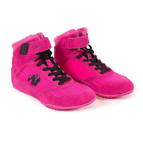 Gorilla Wear High Tops Black pink - Bodybuilding und Fitness Schuhe für Damen, 41