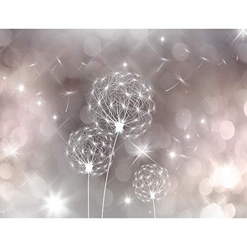 Fototapeten Pusteblumen 352 x 250 cm Vlies Wand Tapete Wohnzimmer Schlafzimmer Büro Flur Dekoration Wandbilder XXL Moderne Wanddeko Flower 100% MADE IN GERMANY - Runa Tapeten 9174011a