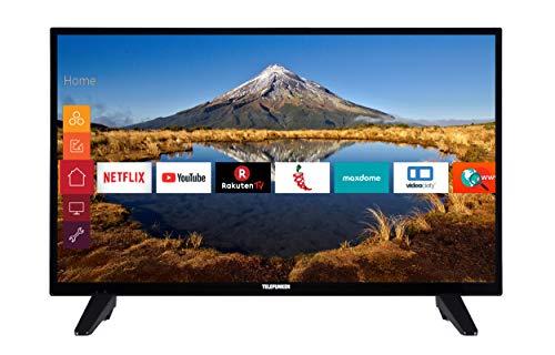 Telefunken XH32E411M 80 cm (32 Zoll) Fernseher (HD ready, Triple Tuner, Smart TV)