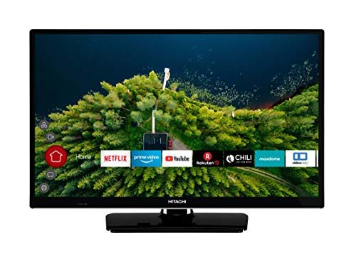 HITACHI H24E2000 61 cm (24 Zoll) Fernseher (HD Ready, Smart TV, Prime Video, Works with Alexa, Triple-Tuner, PVR)
