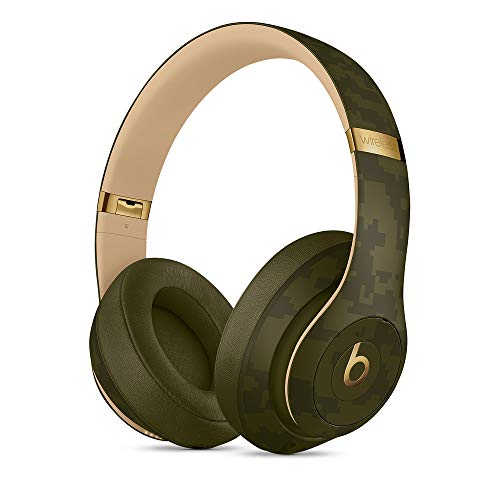 Beats Studio3 Wireless Kopfhörer – Beats Camo Collection – Waldgrün