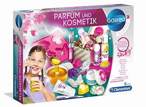 Clementoni 59032 Galileo Parfüm & Kosmetik Experimentier-Set für Kinder ab 8 Jahre, Sin tañosllaños