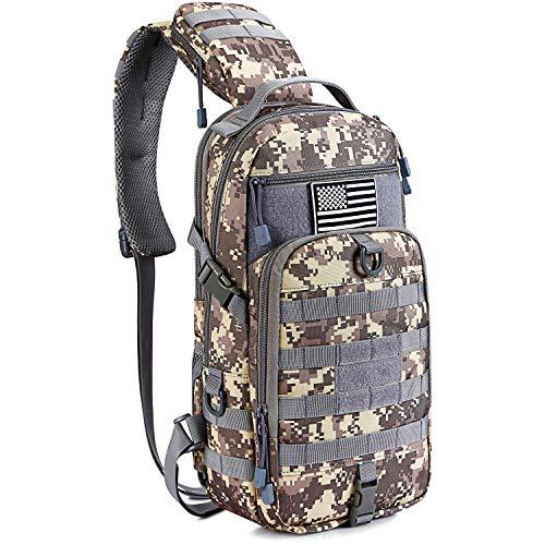 G4Free EDC Tasche Taktische Sling Angelausrüstung Molle Brusttasche Outdoor Daypack
