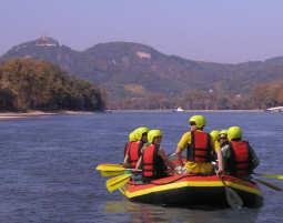 Schlauchboot-Tour Erpel