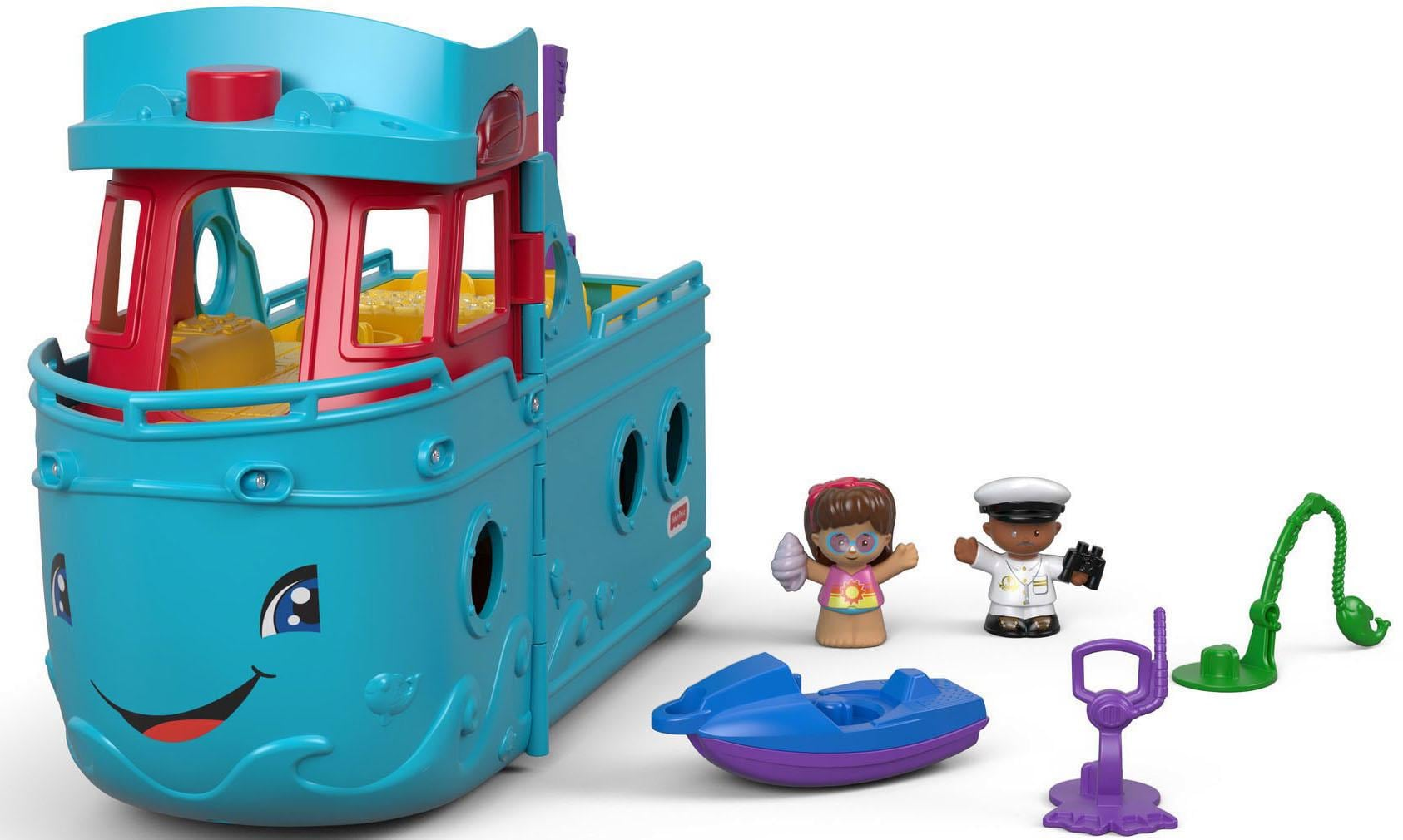 Fisher-Price® Spielzeug-Boot 'Little People, Schiff' (Set)