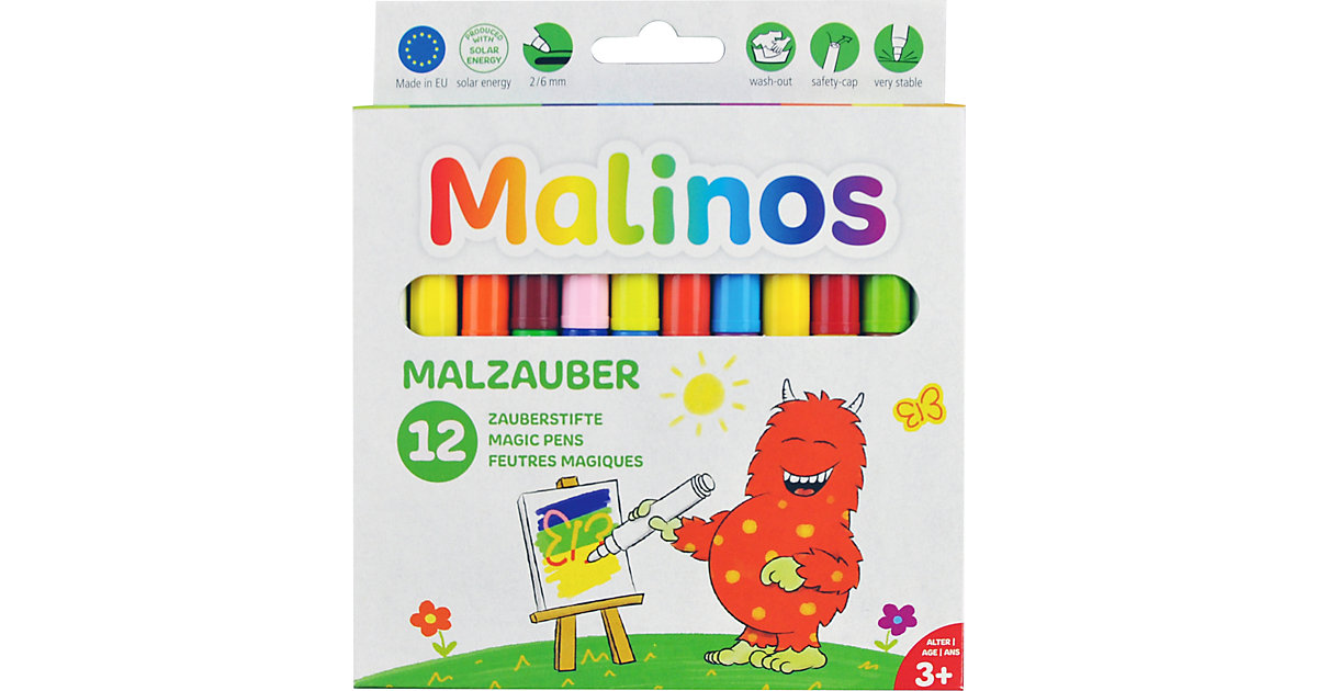 Malinos Malzauber 12 Stifte