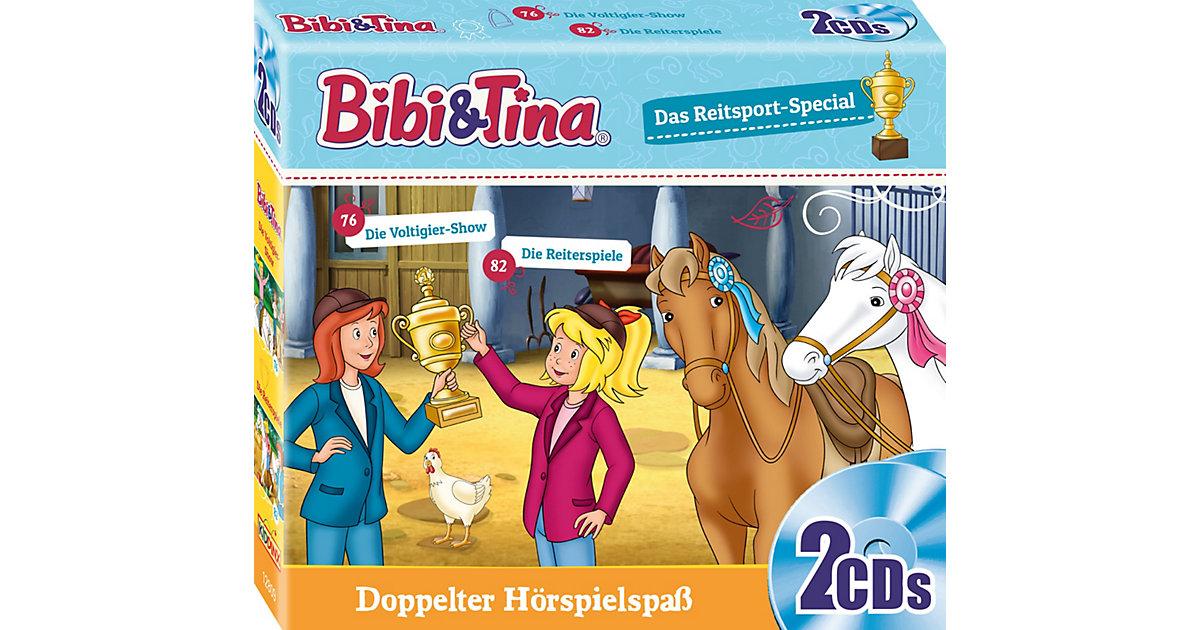 CD Bibi & Tina - Das Reitsport-Special (Die Voltigier-Show / Die Reiterspiele, 2 CDs) Hörbuch