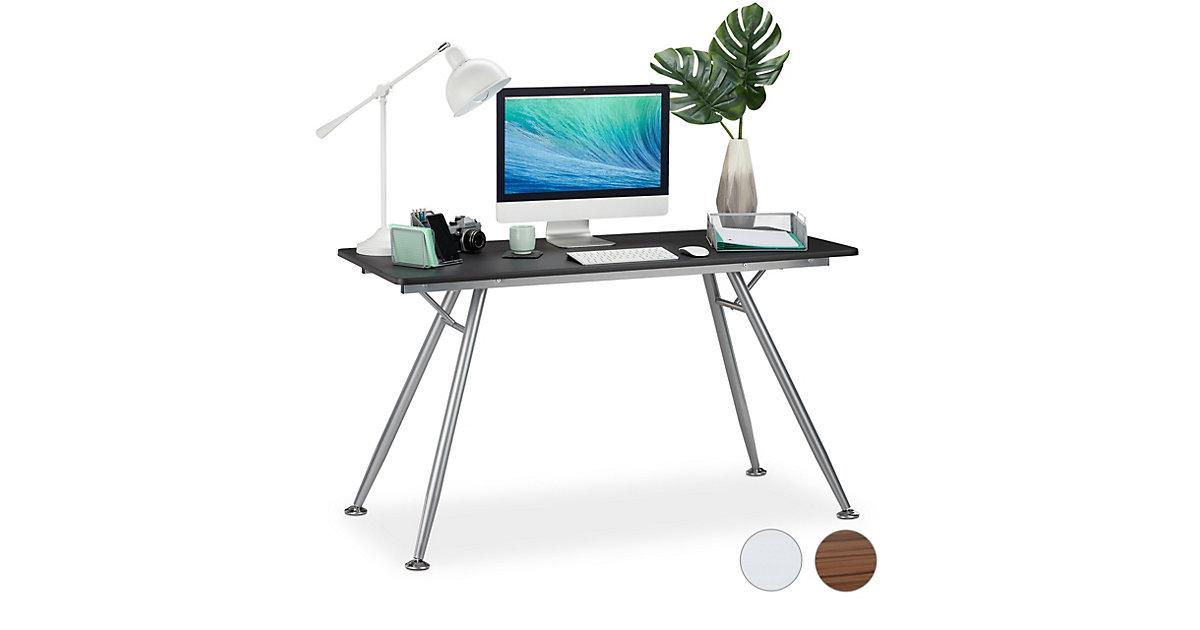 Moderner Schreibtisch schwarz