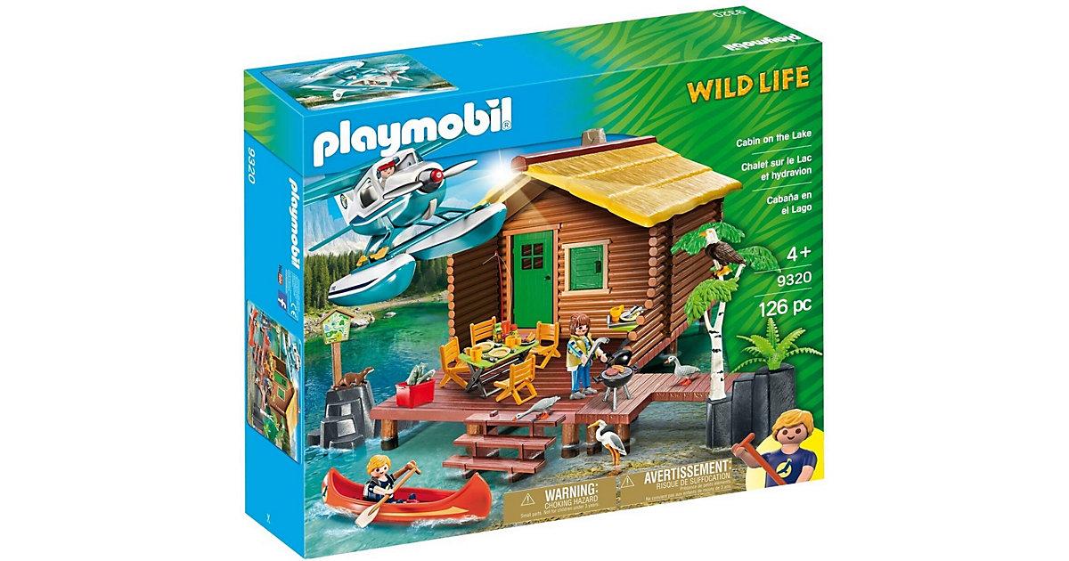 9320 Wildlife Abenteuerurlaub an der Seehütte bunt