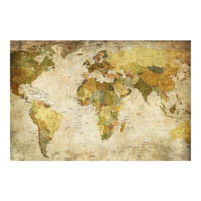 Tapete Weltkarte 2.25m L x 336cm B