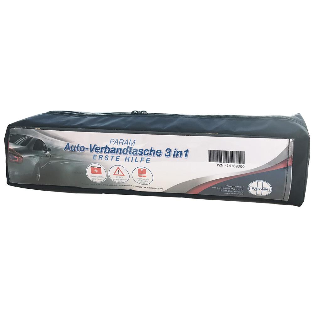 Param Auto-Verbandtasche 3 in 1