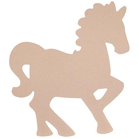 MDF-Pferd, 40 x 44 cm