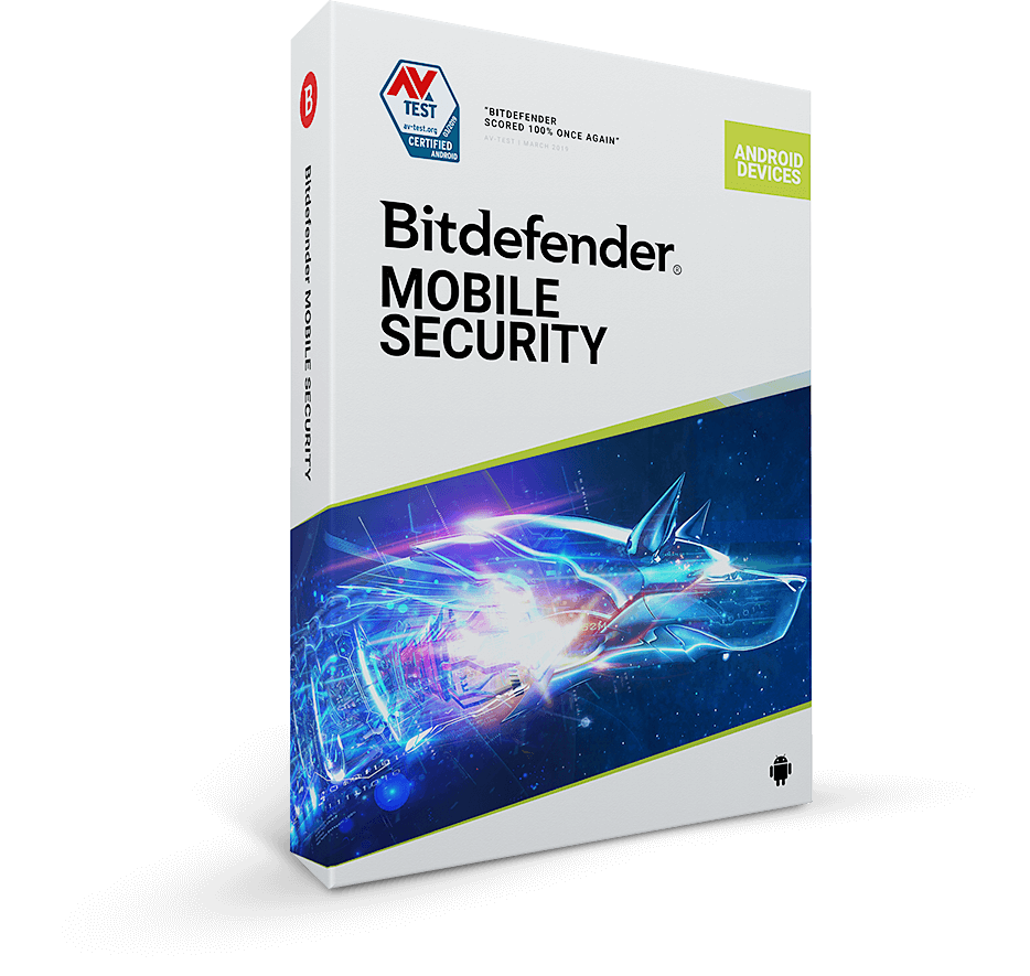 Bitdefender Mobile Security 2020 1 Gerät Handy, Tablet, Android 6 Monate