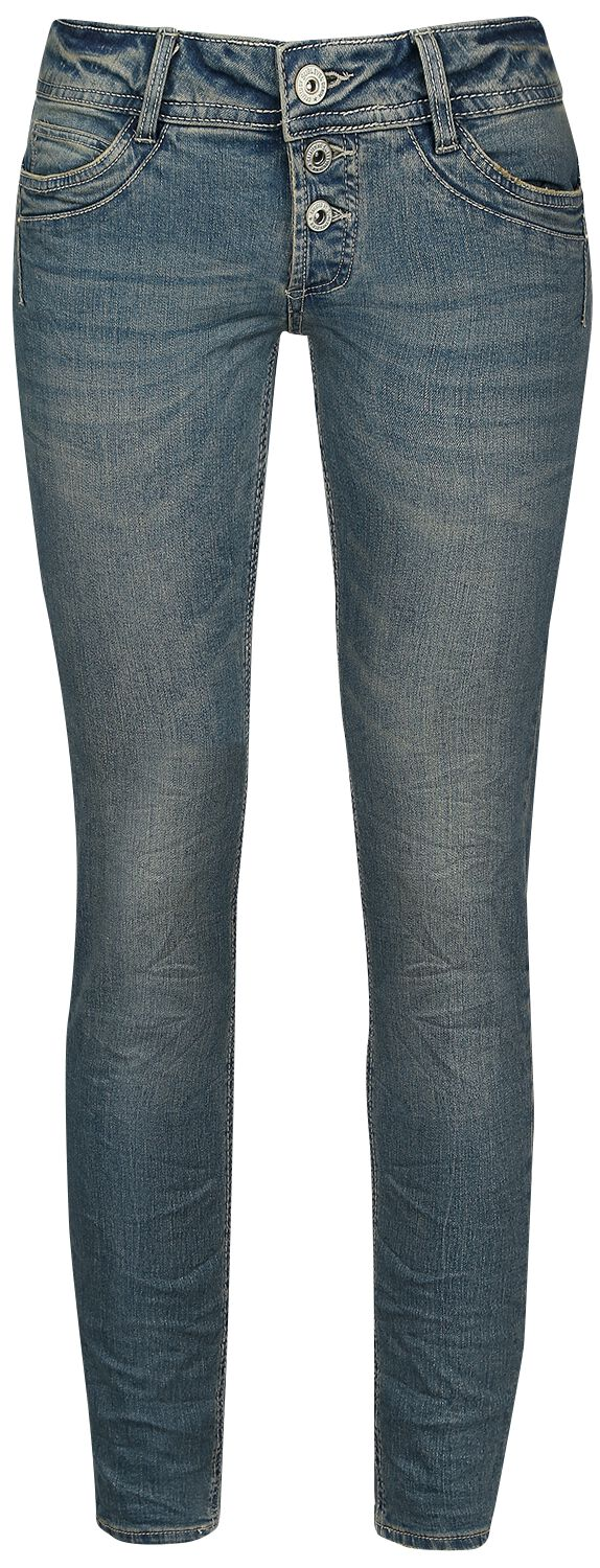 Sublevel  Dark Blue Denim Jeans  Girl-Jeans  dunkelblau