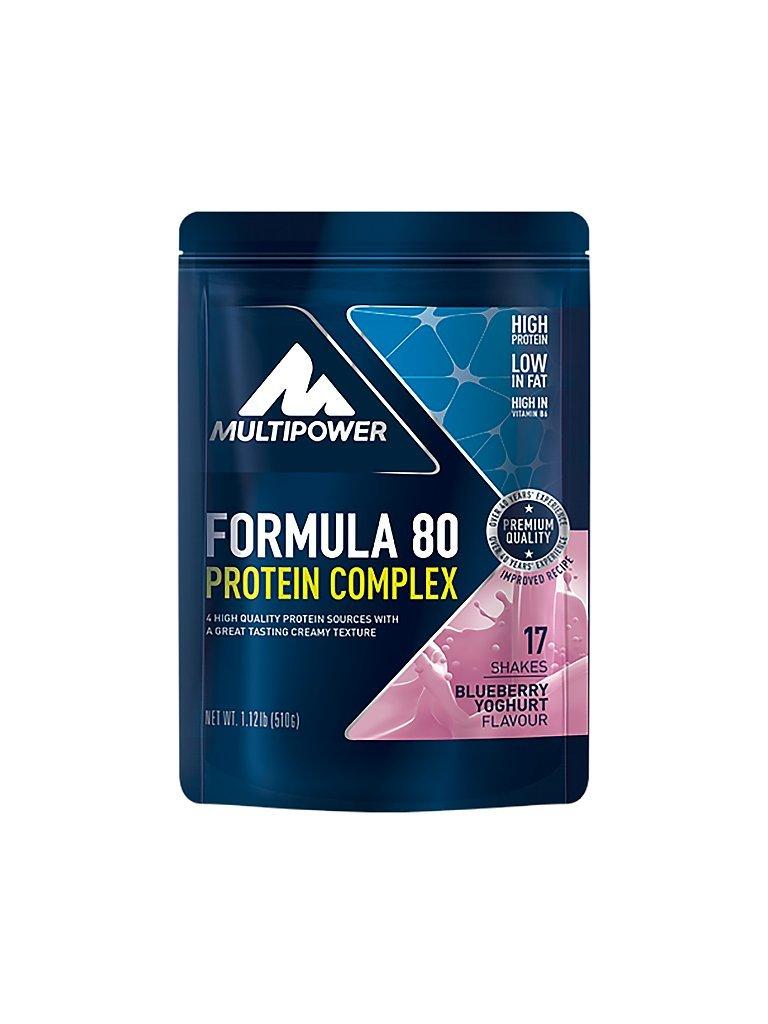 MULTIPOWER Proteinpulver Formula 80 Protein Complex Heidelbeer/Joghurt