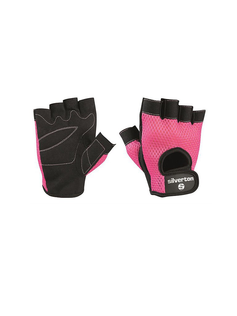 SILVERTON Damen Fitness-Gewichtheberhandschuh pink   M