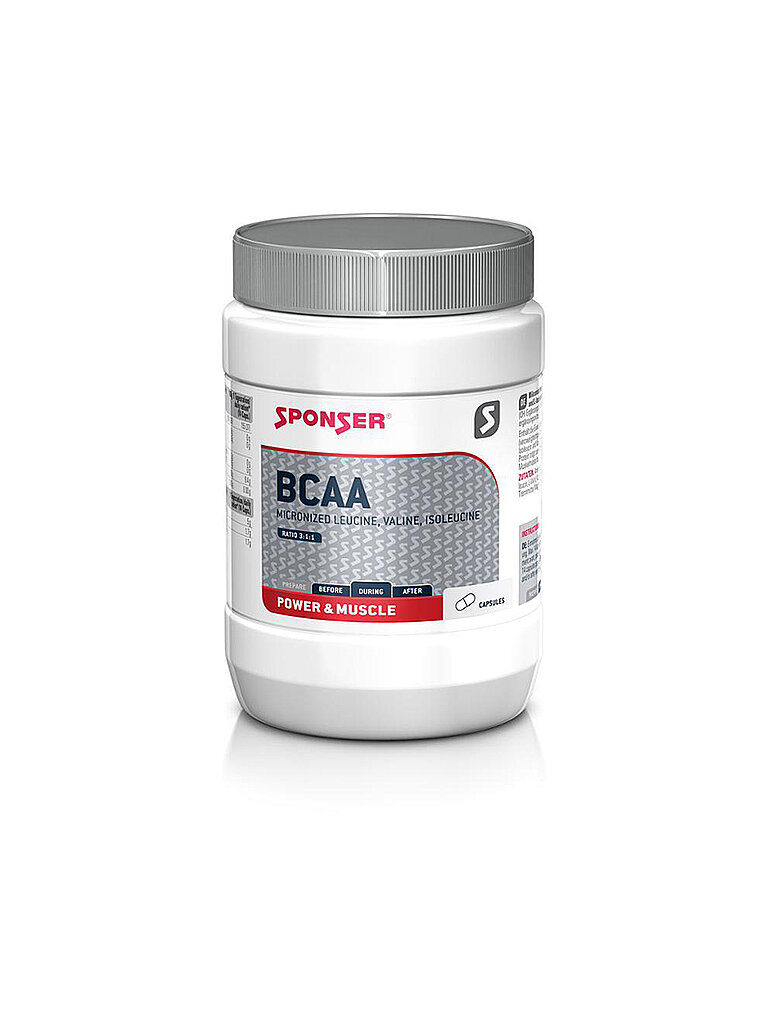 SPONSER BCAA Capsules 3:1:1 neutral, 350 Kapseln in Dose