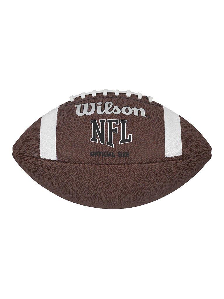 WILSON Football NFL OFFICIAL braun