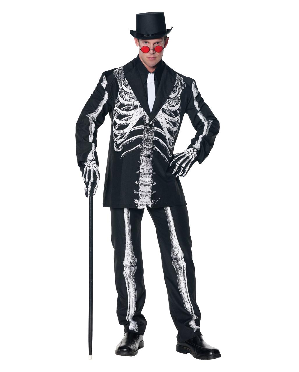 Skelett Kostüm Anzug für Day of the Dead