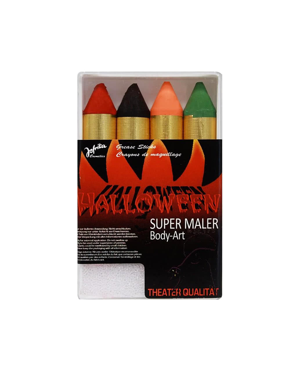 Super Maler Make up Stifte Herbstfarben für Halloween
