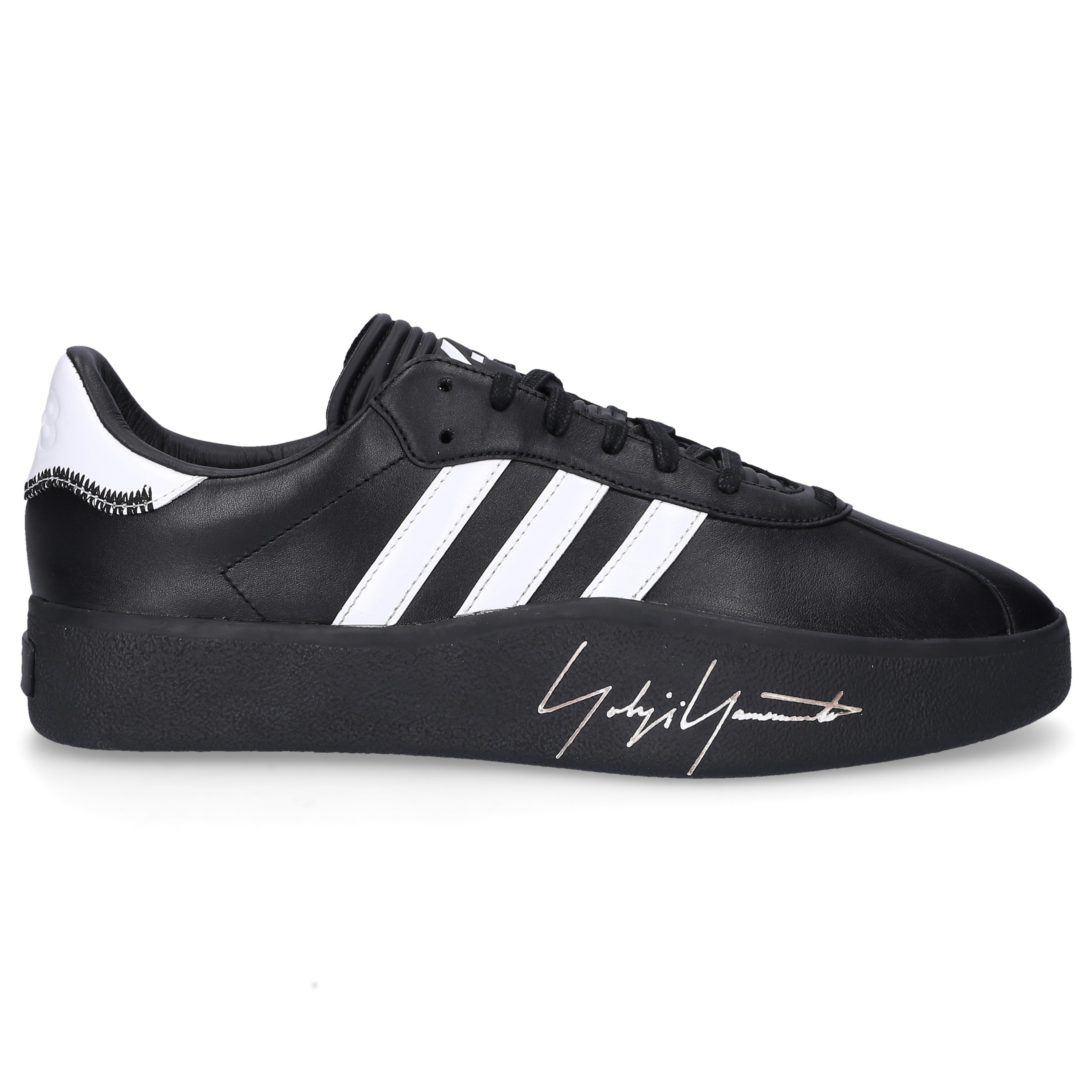 Sneaker low TANGUTSU FOOTBALL Kalbsleder Logo schwarz