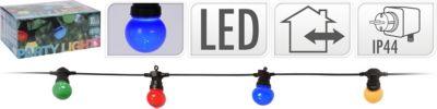 Koopman LED-Beleuchtung mit 10 Lampen L7,5m IP44,8 Funktionen
