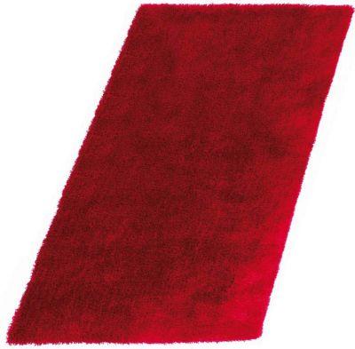 Teppich Shaggy, rot Gr. 80 x 150