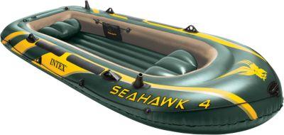Intex Schlauchboot Seahawk 4 Set, 4-tlg. dunkelgrün