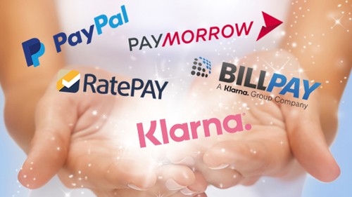 Kauf auf Rechnung Zahlungsdienstleister