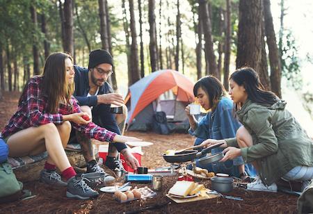 Camping & Outdoor Equipment auf Rechnung kaufen