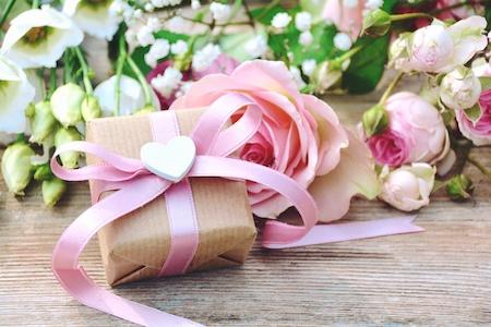 Blumen und Geschenke auf Raten