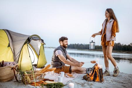 Camping auf Rechnung kaufen